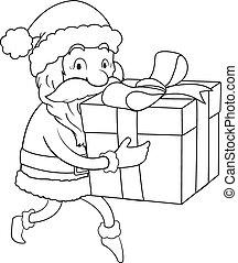 Sneaking Santa Line