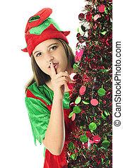 Sneaky Teen Elf