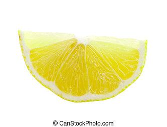 snede, citroen