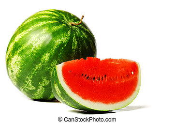 snede, watermeloen