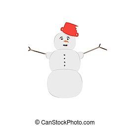 sneeuw man