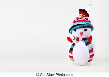 sneeuwpop, witte