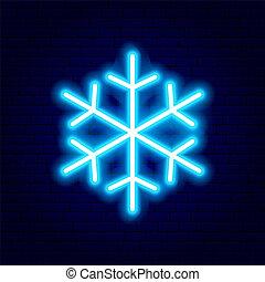 sneeuwvlok, buitenreclame