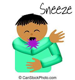 sneeze catcher