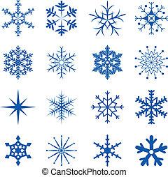 sneflager, afdelingen