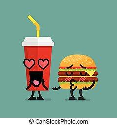 Flirten verliefd worden