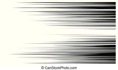 snelheid, vector, lijnen