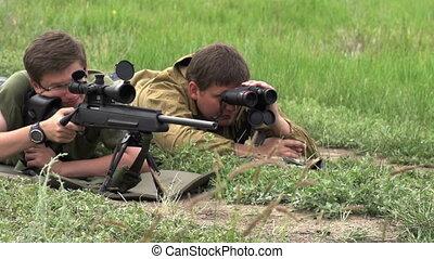 Sniper Makes the Shot