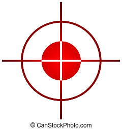 Sniper target sight or scope - Sniper target scope or sight,...
