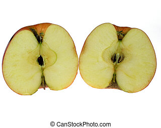 snitt, äpple