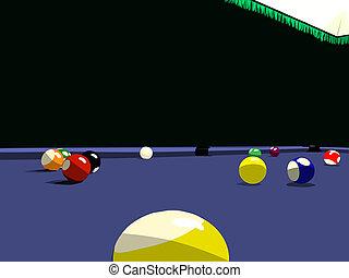 snooker eightball billards
