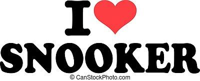 snooker, miłość