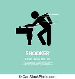 Snooker Player.