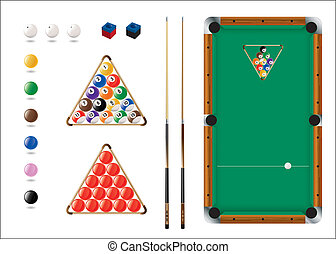 Snooker, Pool, sport icons - Sports Ball Icons for Pool,...