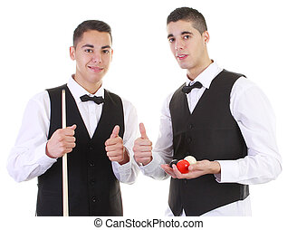 snooker, tipos