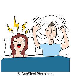 Snoring Wife