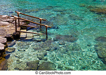 Snorkel Point in the Caribbean Sea