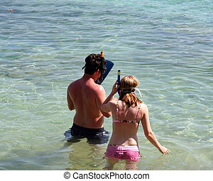 snorkel, temps