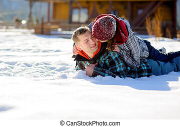 snow., うそ, 恋人, 若い