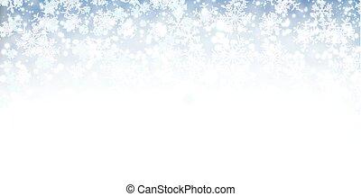 snow., 旗, 冬