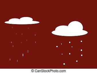 snow-01, 雨