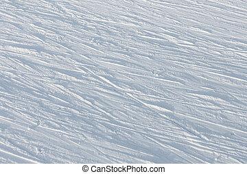 snow background ski slope