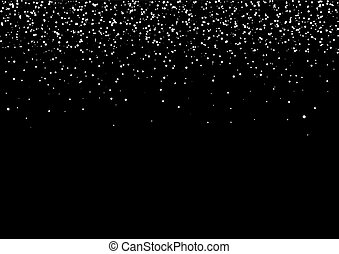 Snow background - Snow black background for christmas, new ...
