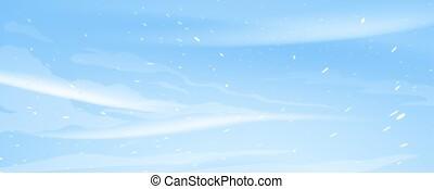 Snow blizzard texture background