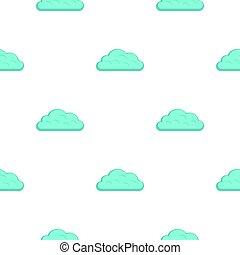 Snow cloud pattern flat