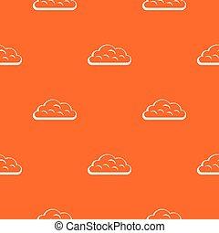 Snow cloud pattern seamless