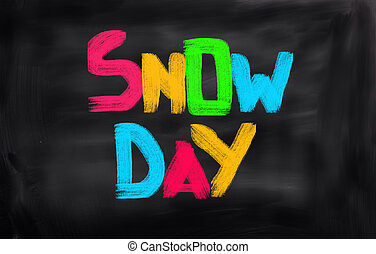 Snow Day Concept