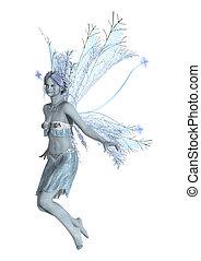 Snow Fairy Flying