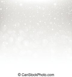 Snow fall with bokeh abstract grey background vector illustration eps10 001