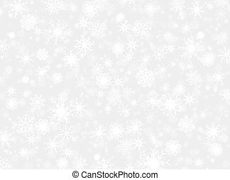snow flake background pattern