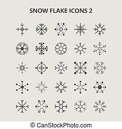 Snow Flake Icons