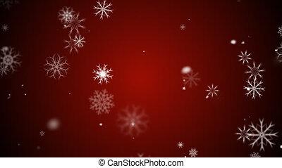 Snow Flakes - Animation of snow flakes