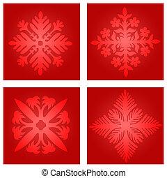 Snow flakes illustration