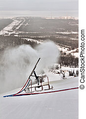 snow gun spray