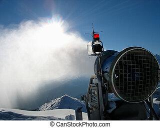Snow-gun