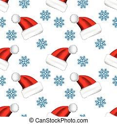 Snow icon or snowflake logo seamless pattern on white background