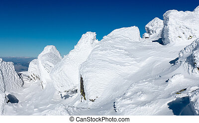 Snow in Low Tatras, Slovakia