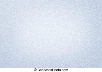 Snow light blue background