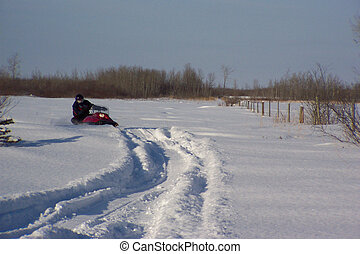 Snow Machine - Manitoba recreation