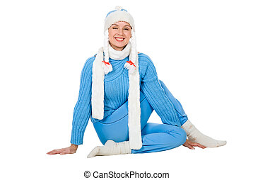Snow Maiden of yoga