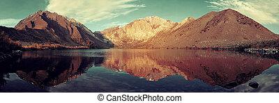 Snow Mountain lake