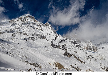 Snow Peaks of the Himalayas