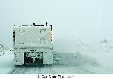 Snow plough ahead