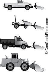 snow plow icons