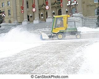 Snow Removal - Daily snow removal in Edmonton, Alberta, ...
