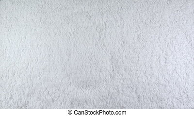 snow snowman - Snowman drawn on snow background with matte